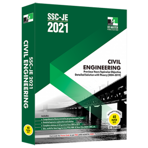 IES MASTER SSC JE CIVIL ENGINEERING BOOK 2021 new edition