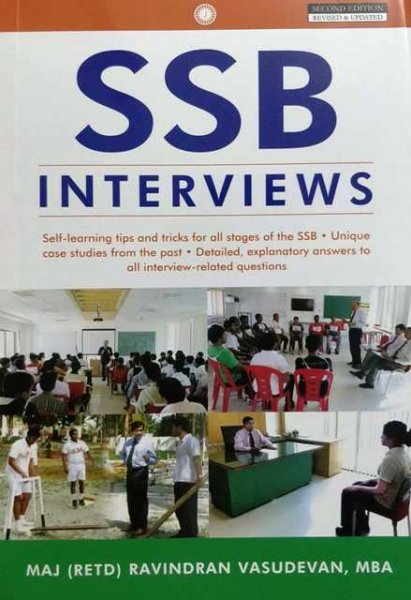 SSB Interview by Major (RETD) Ravidran Vasudevan