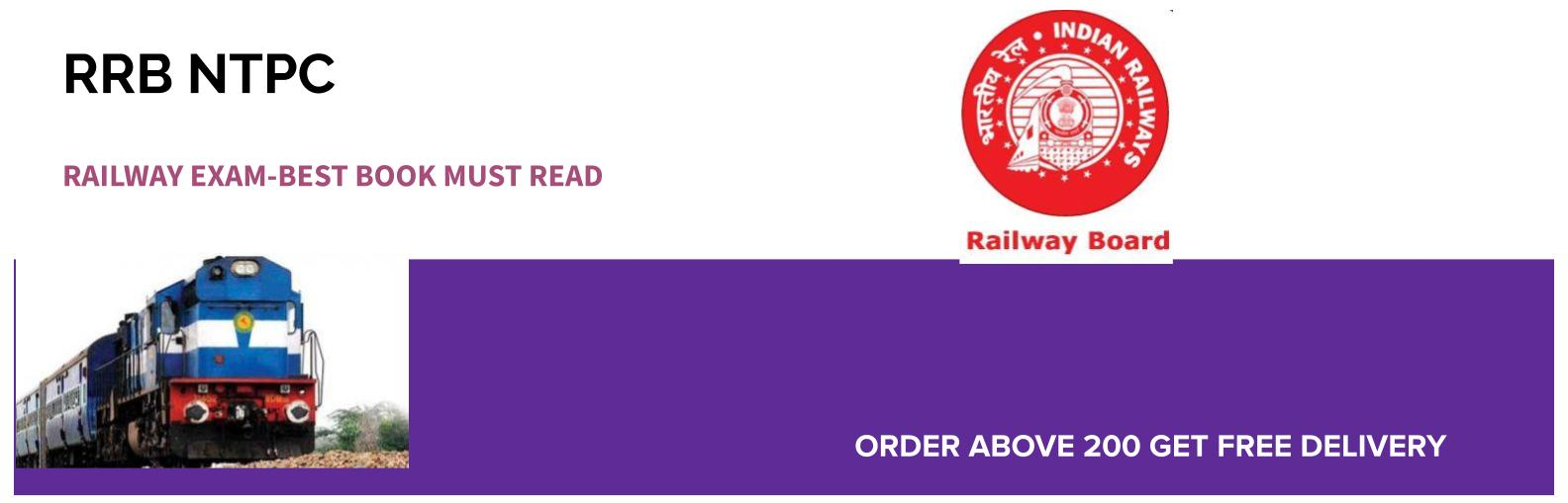 RRB NTPC Railway Exam Best Book Must Read